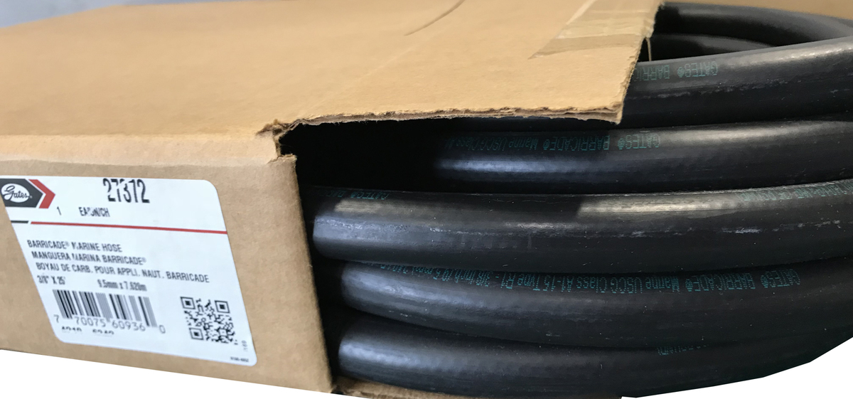 """Fuel Injection Line 3//8/"""" x 1 /' MADE IN USA GAS HOSE NEW  3//8/"""" By the Foot"""